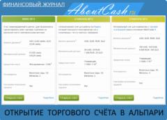 Как открыть счет в Альпари - процедура открытия торговых счетов в брокере Alpari