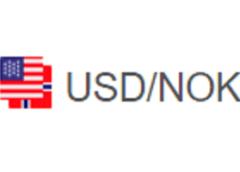 График USD NOK - курс доллара к норвежской кроне